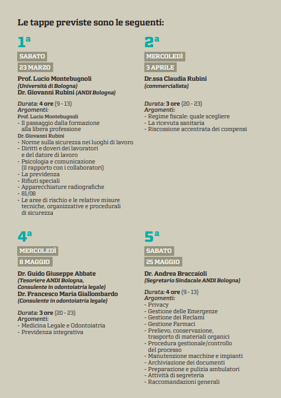 Percorso formativo extra clinico under 35 2