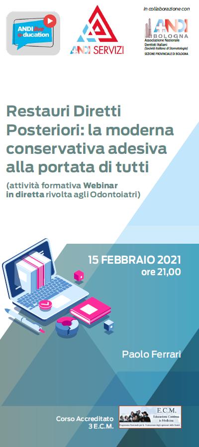 Programma culturale Andi Bologna 2021: si riparte il 15 febbraio