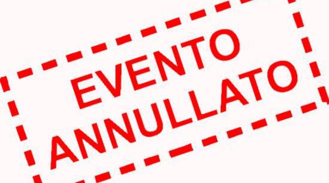 Annullamento eventi in presenza fino al 31 – 12 -2020