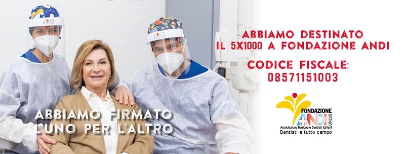 Dona il 5×1000 alla Fondazione Andi!